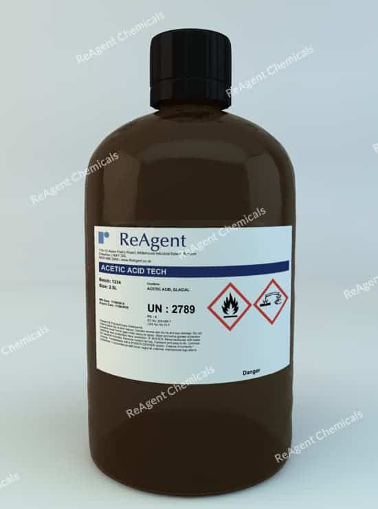 Acetic Acid Glacial (General Use) 2.5L packsize