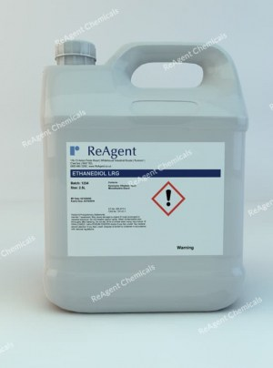 An image showing Ethanediol (Laboratory Use) in a 2.5litre container