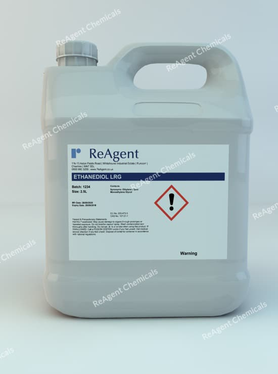 Ethylene Glycol (General Use) 2.5L packsize