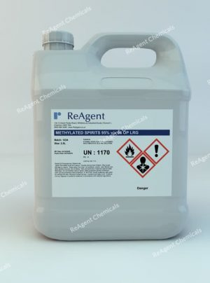 An image showing Denatured Alcohol (IMS) 99% in a 2.5litre container