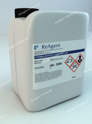 An image showing Formaldehyde (General Use) in a 2.5litre container