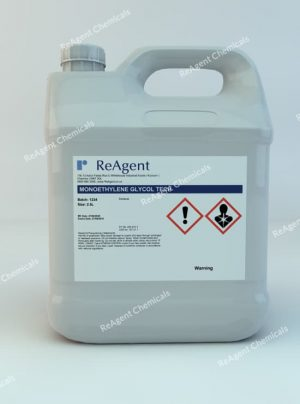 An image showing Monoethylene Glycol (Laboratory Use) in a 2.5litre container