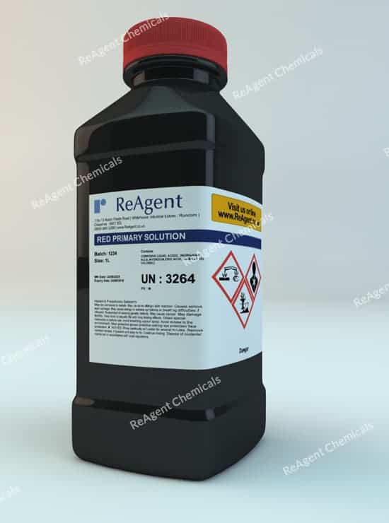 Red Colour Primary Solution to BP A46 1L packsize