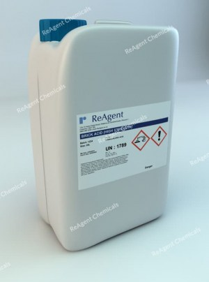 An image showing Brick Acid in a 25 litre container