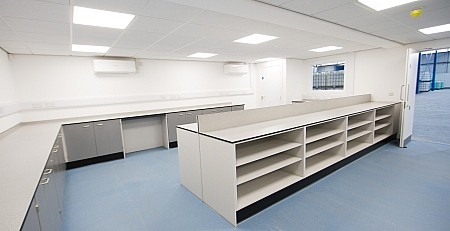 ReAgent's recently refurbished quality lab
