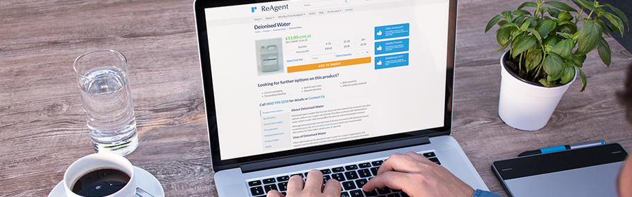 Buying chemicals online from ReAgent's Chemical Shop