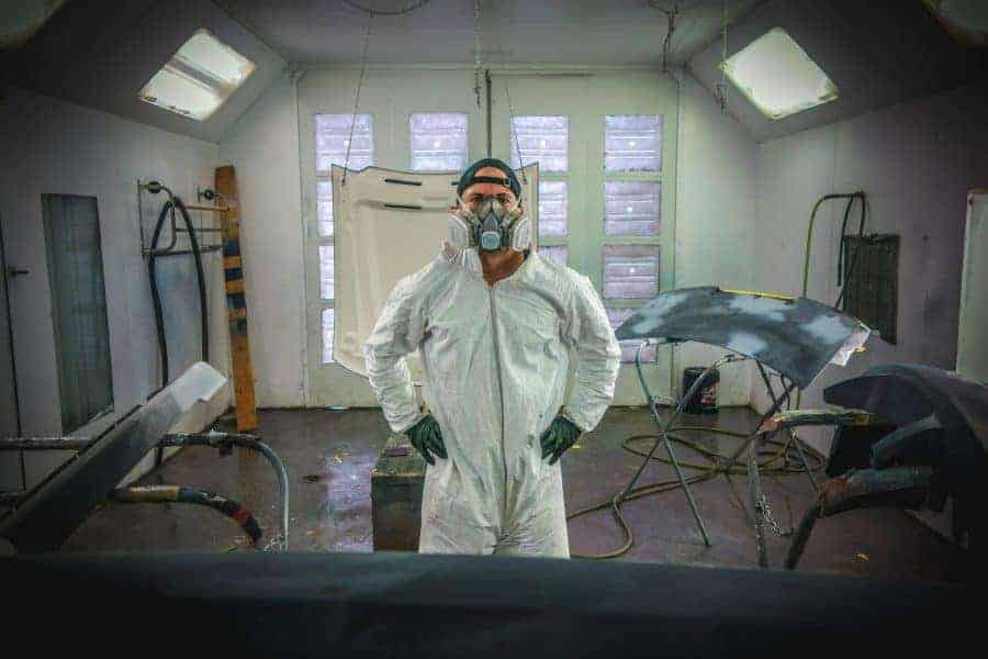 What is methyl ethyl ketone - it is used in automotive paint and protective clothing should be worn