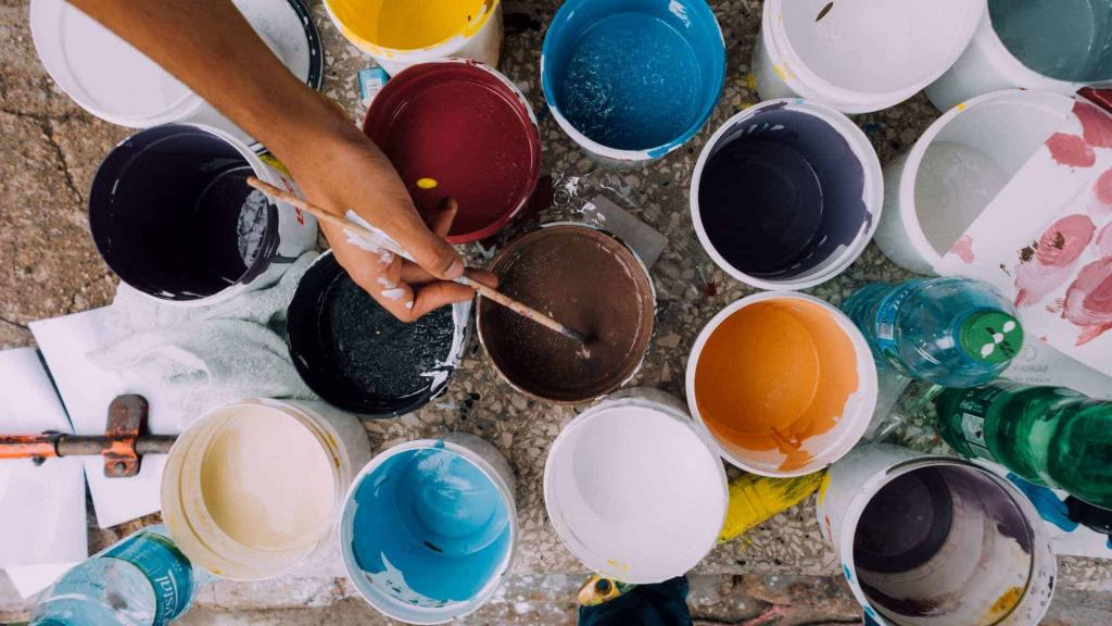 What are the uses of methyl ethyl ketone used in paints