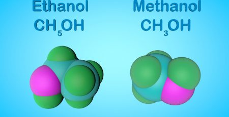 The differences between methanol and ethanol