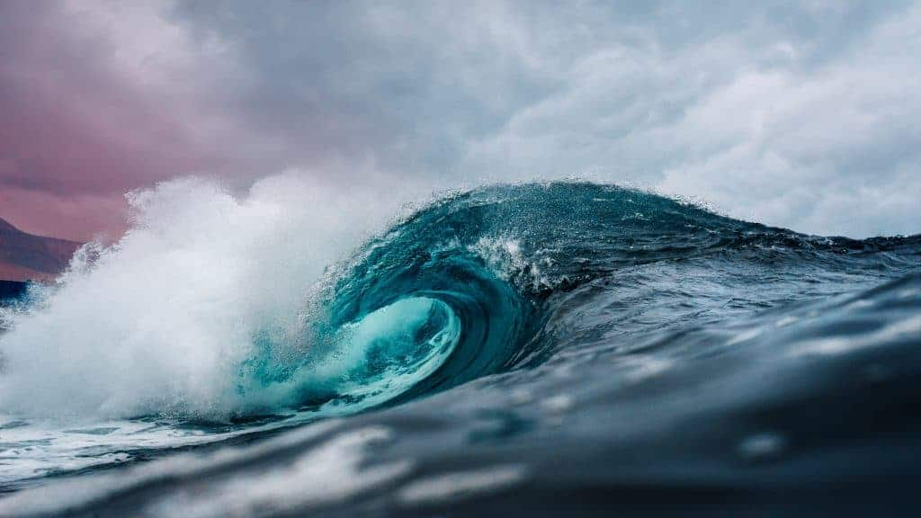 Ocean water is a solvent that covers 71% of the earth