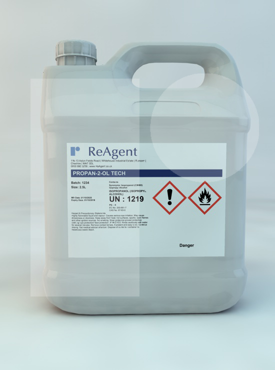Propan-2-ol / Isopropanol (General Use)