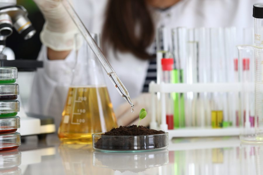 Chemical indicators are used in laboratory experiments