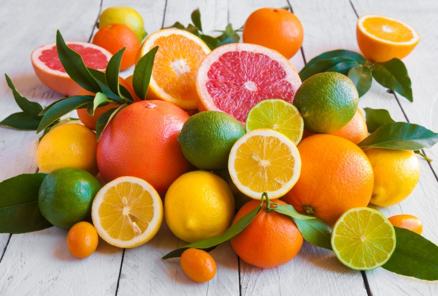Citric acid is commonly found in citrus fruits like lemons, oranges, and grapefruit