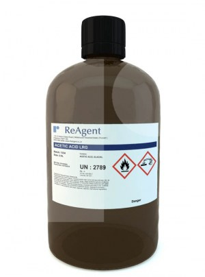 Ethanoic Acid Glacial Laboratory Use 2.5L Packsize 1