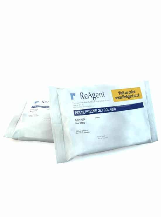 Polyethylene Glycol 4000 PEG 4000 25kg packsize 1
